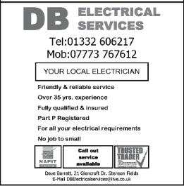 D B Electrical advert
