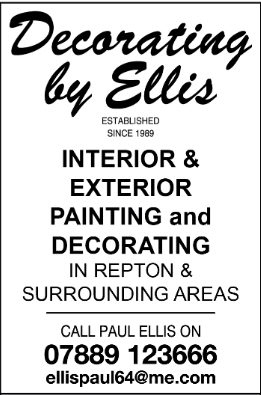 Decorating by Ellis advert
