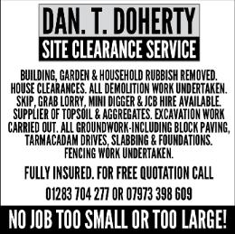 Dan Doherty advert