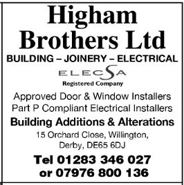 Higham Brothers advert