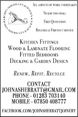 John Sherratt advert