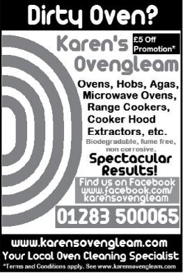 Karens Oven Gleam advert