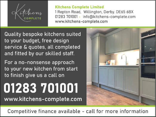 Kitchens Complete advert