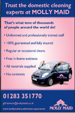 Molly Maids Advert