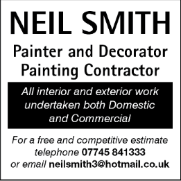 Neil Smith Advert