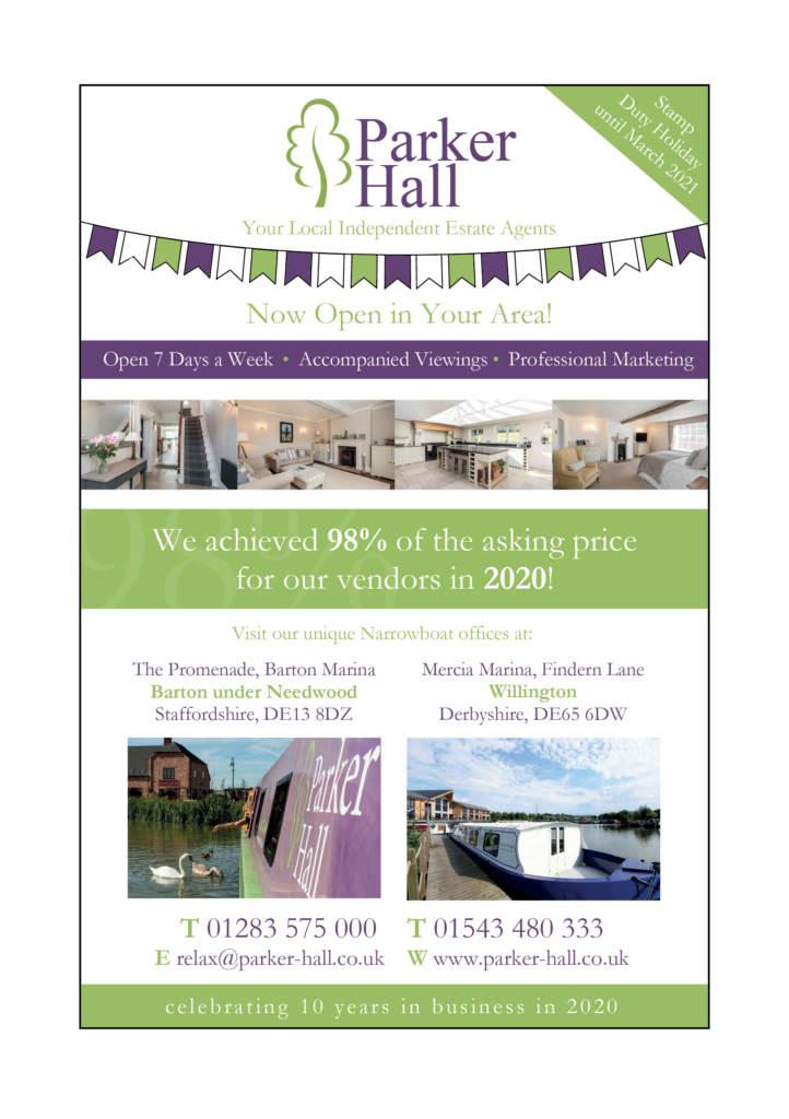 Parker Hall advert