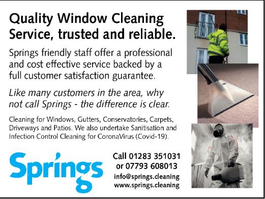 Springs cleaning advert