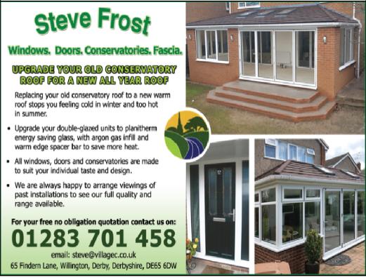 Steve Frost advert