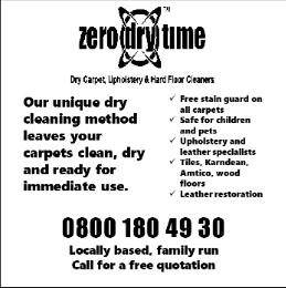 Zero Dry Time Advert